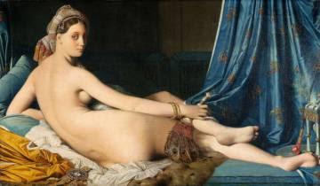 'La gran odalisca' (1814), de Jean-Auguste-Dominique Ingres que se expuso el año pasado en el Museo del Prado.