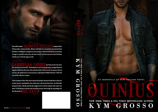Cover Reveal - QUINTUS by Kym Grosso