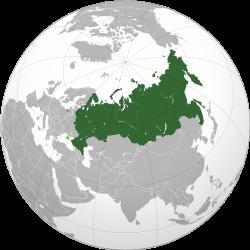 Vị trí của Nga