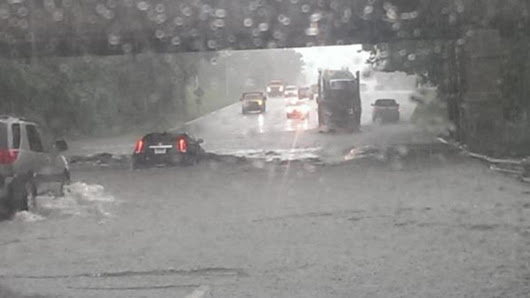 Detroit Flooding: Ford, Lodge, Chrysler, Southfield Freeways and I-696 Underwater After Historic Rainfall Event - weather.com