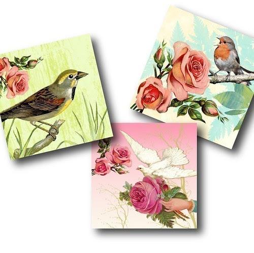 Tree_WONDERLAND, Digital Collage Sheet by download