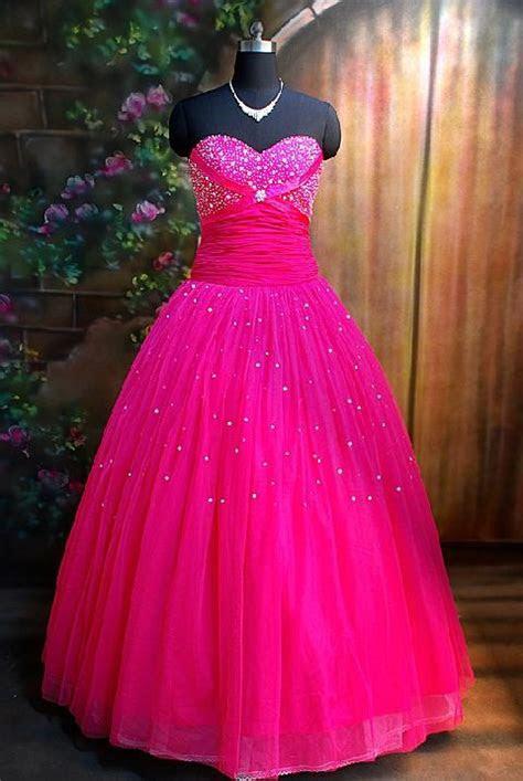 I Heart Wedding Dress: Hot Pink Wedding Dress
