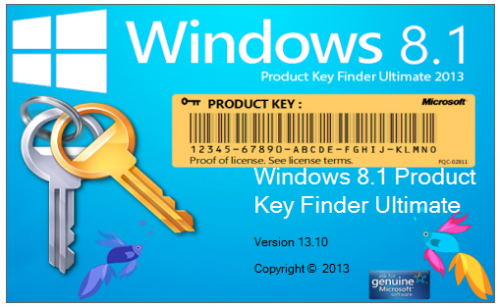 Windows 8.1 Product Key Finder Ultimate 14.04.1