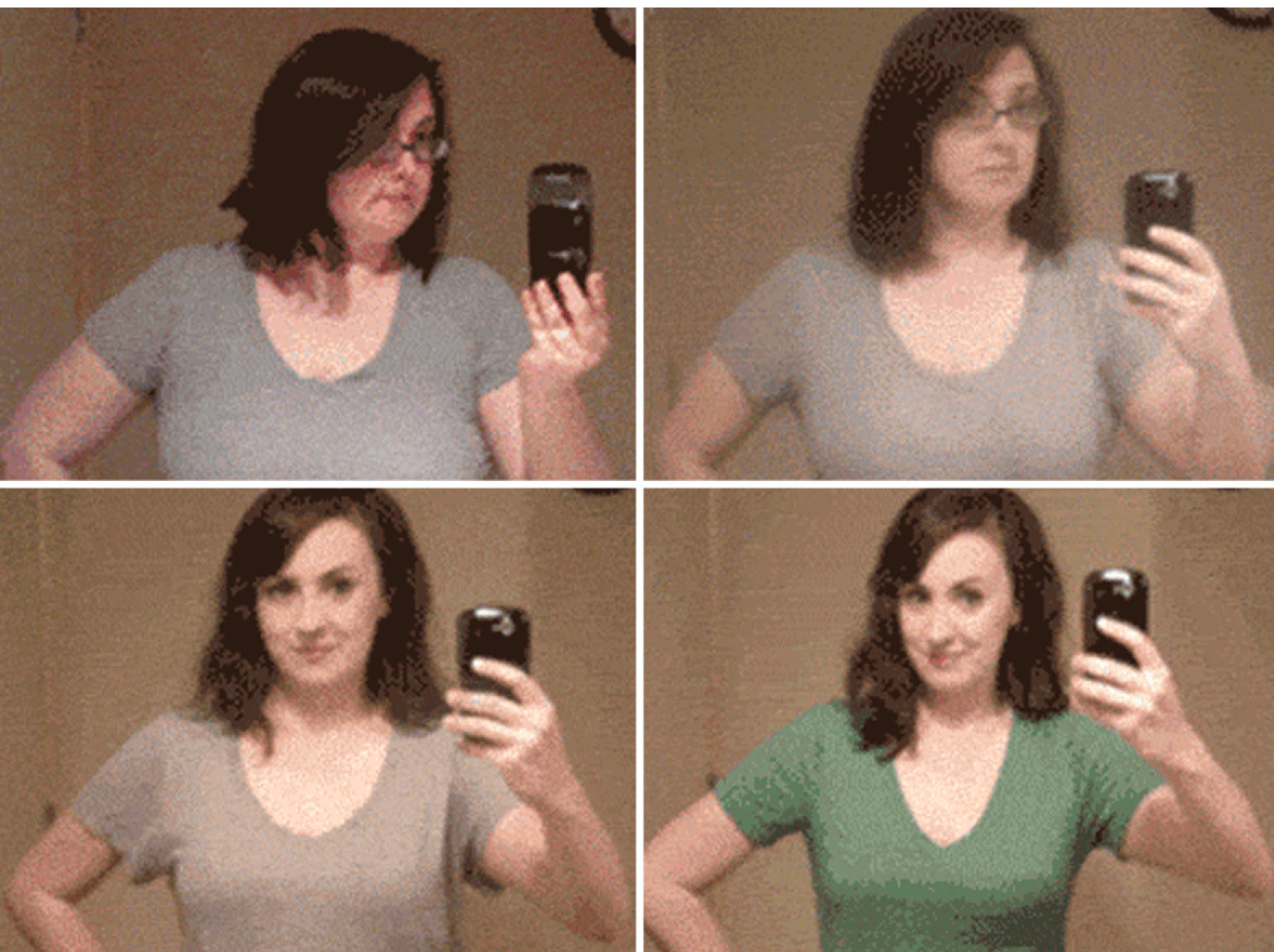 Weight Loss Time-Lapse GIF: Woman Shares Low-Carb, High ...