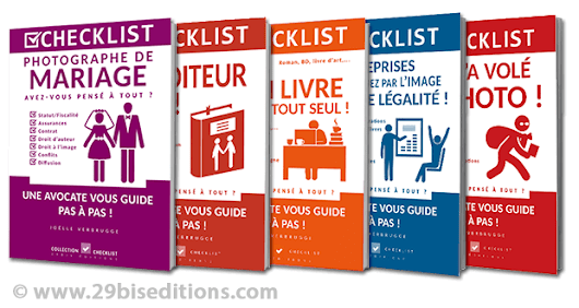 Les livres de la collection checklist de Joëlle Verbrugge