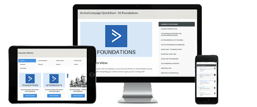 ActiveCampaign Quickstart Training Course