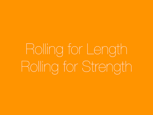 ROLLING FOR LENGTH