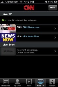 Watch Live CNN on iPad, iPhone for FREE