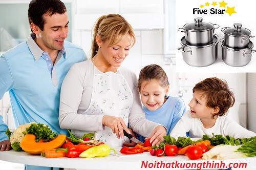Bộ nồi Fivestar 4 chiếc chất lượng tốt tiện dụng cho người dùng