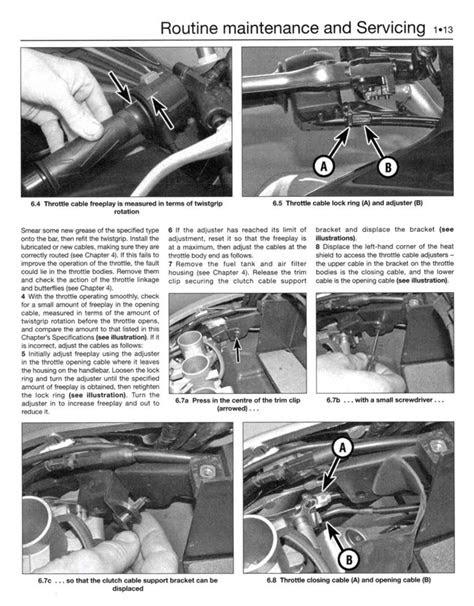Yamaha FZ6 Fazer (2007 - 2008) Motorcycle Repair Manuals