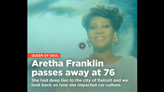 Aretha Franklin passes away at 76 - Autoblog