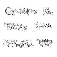 Sassy Salutations Clear Stamp Set