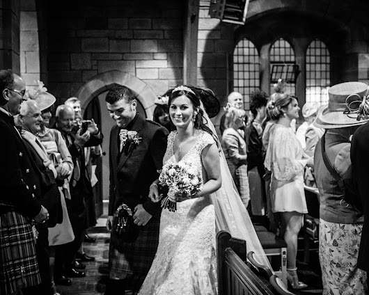 A Lockerbie Wedding - Julie & Chris - Giles Atkinson Photography