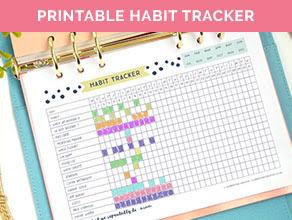 Daily Habit Tracker Template Calendar June