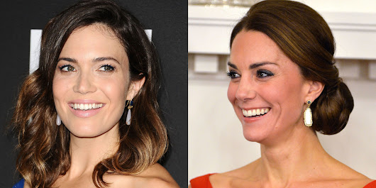 Mandy Moore Wore the Same Dress as Kate Middleton