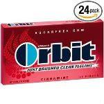 Orbit Cinnamint Sugarfree Gum