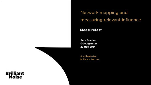 Measurefest: Network mapping and measuring relevant influence