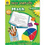 Teacher Created Resources Daily Warm-Ups Math Gr 4
