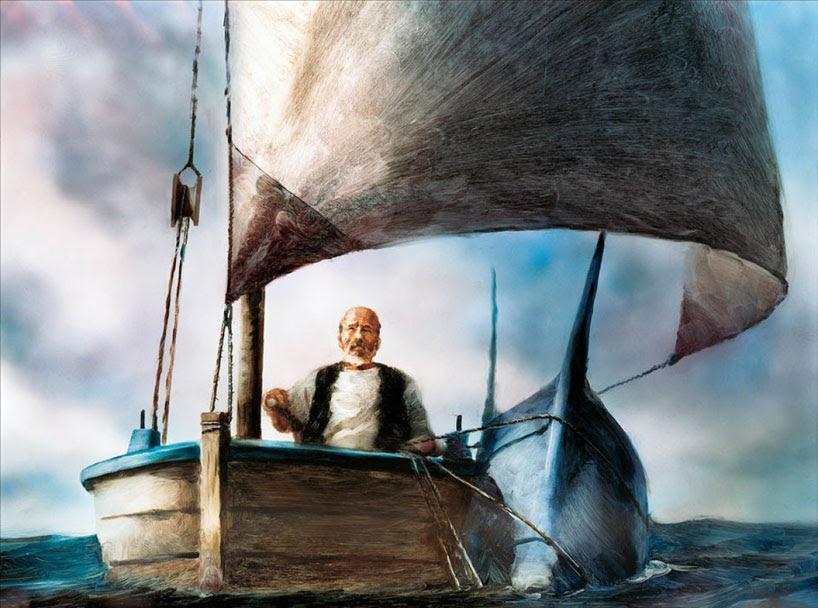 """""""El viejo y el mar"""" de Ernest Hemingway"""