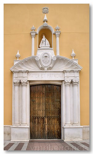 Portal da Igreja de Santa Maria de África - Ceuta by VRfoto