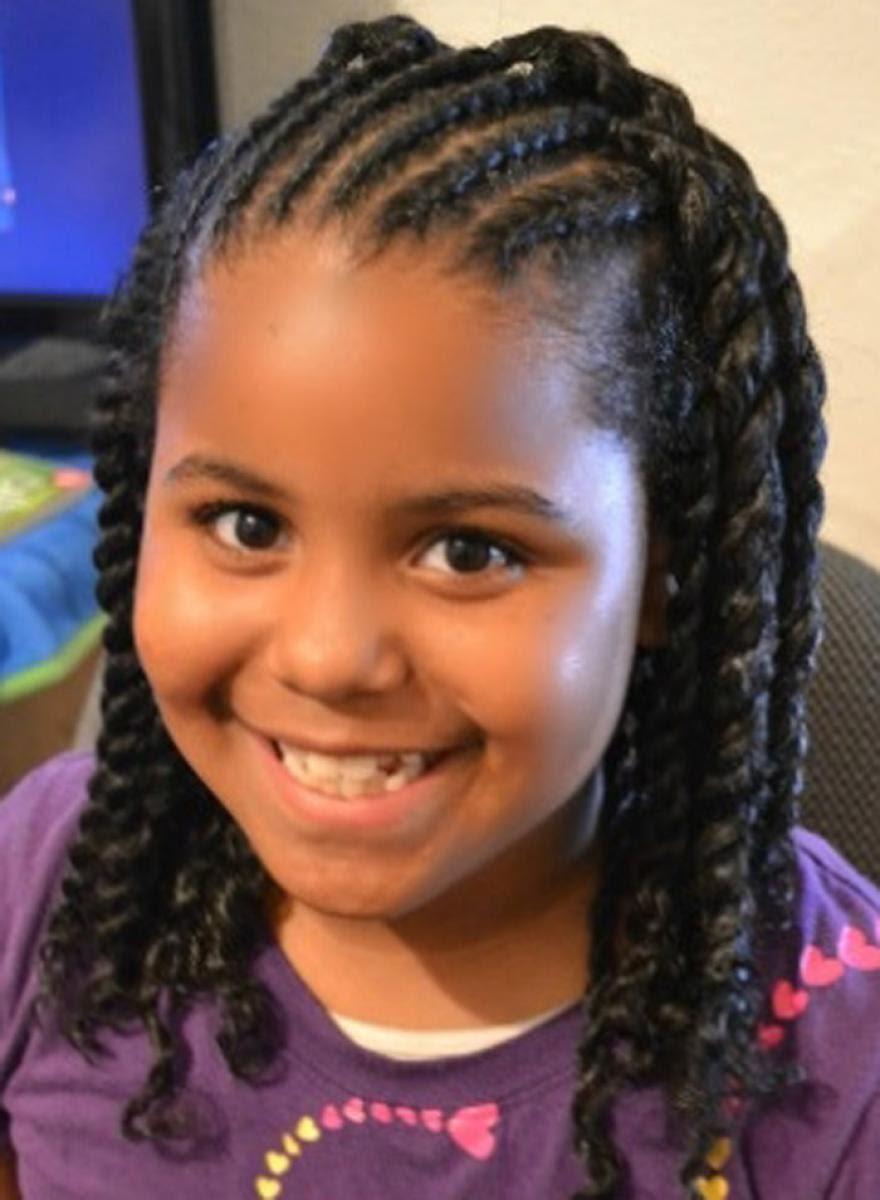 Little Girl Hairstyles Black Kids Hair Style Kids