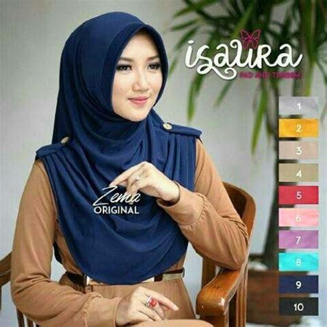 jilbab instan isaura model hijab syari terbaru