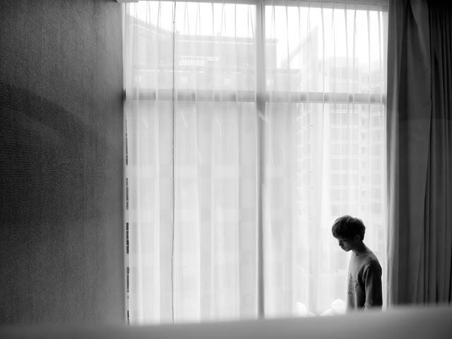 typicalben black and white window shot