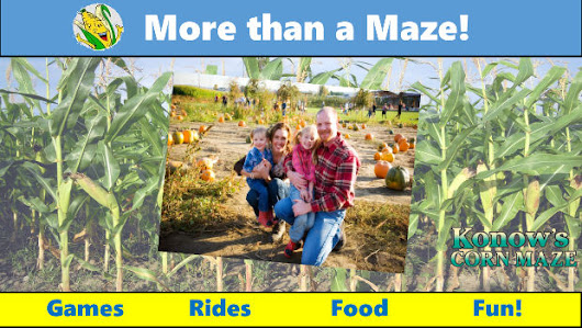 Fall at Konow's Corn Maze! ~ Discount