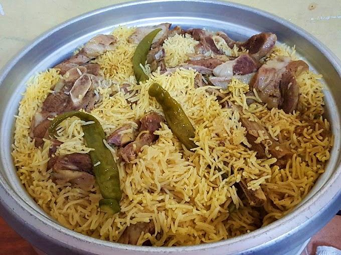 Syed Nasi Arab dan Nasi Turkey