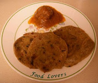 Chiroti Stuffed Paratha by Food Lover