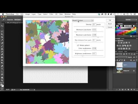 Photoshop CC: Scripted Patterns and Fills