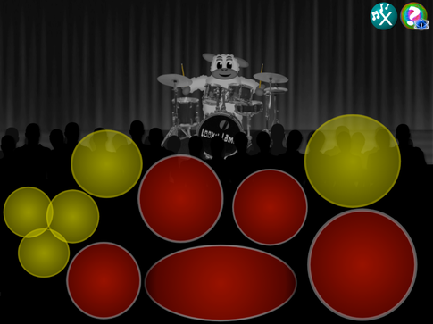 Looky Lamb Drums! Play the drums! A Great Christian game for Kids of All Ages!