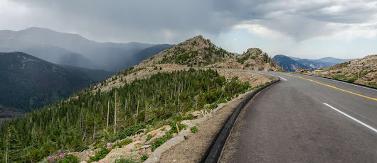 Trail Ridge Road is the best way to experience the Rockies