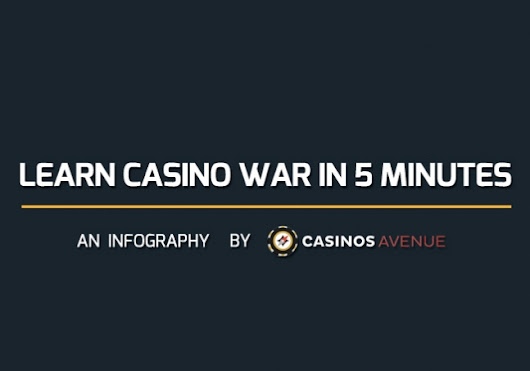 Learn Casino War rules and strategy in 5 minutes