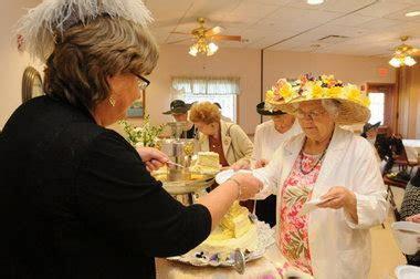 Belchertown seniors celebrate royal wedding with tea party