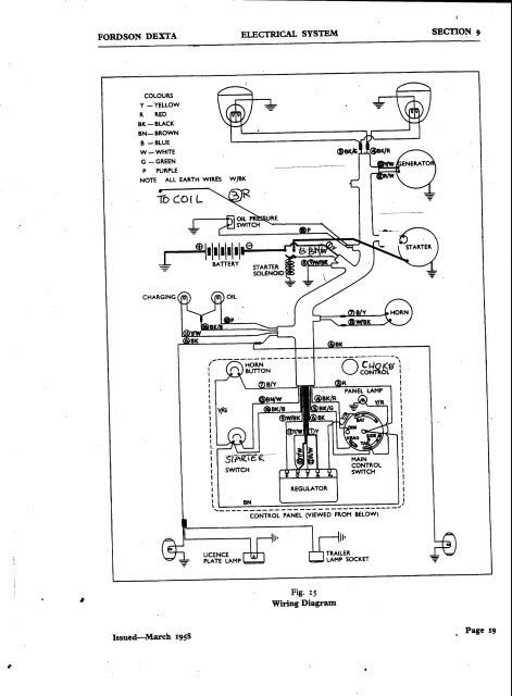 Ford 4600 Tractor Wiring Diagram - Wiring Diagram