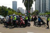 Polisi Siap Sita Sepeda Motor Pengendara yang Masuk JLNT Casablanca