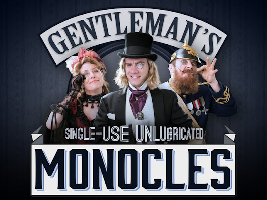 The Gentleman's Single-Use Monocle by Zachary Weiner — Kickstarter