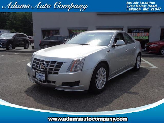 Used 2012 Cadillac CTS Base for Sale in Bel Air MD 21047 Adams Auto Company