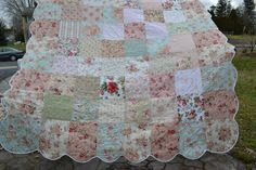 Shabby Chic Quilts on Pinterest