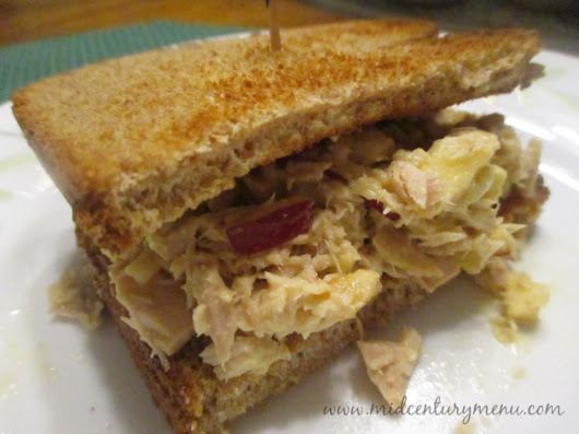 Tuna Fish-Apple Sandwiches – Mid-Century Recipe Guest Test Sunday