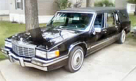 cadillac on 1992 cadillac fleetwood hearse