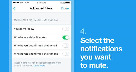 Twitter now lets you auto-mute eggs and other sketchy accounts