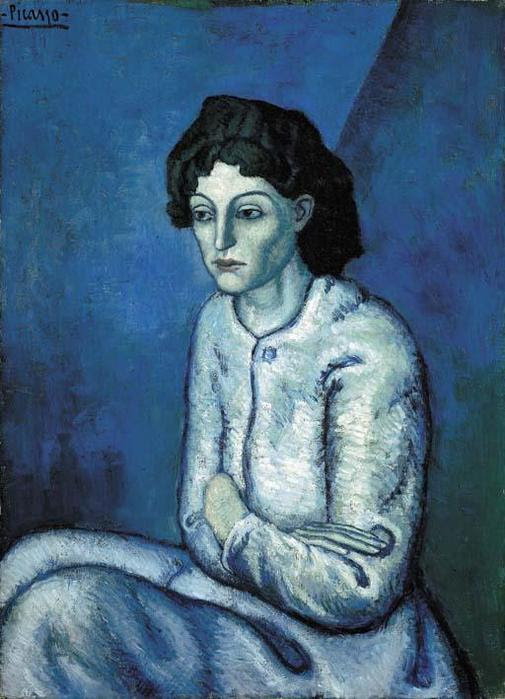 Pablo Picasso Woman with Folded Arms