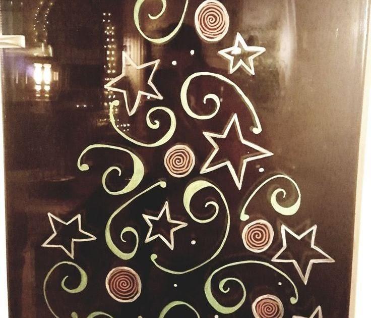 malvorlage weihnachtsbaum fenster