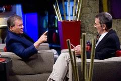 Shatner interviews Leonard Nimoy
