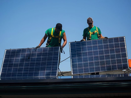 Solar's bright future seen in financing options