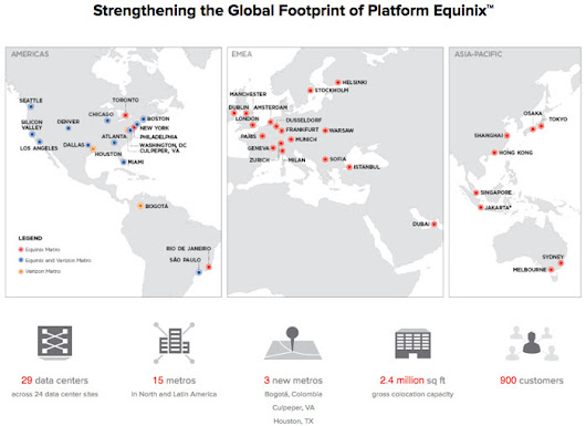 Interconnection Expanded: Equinix to Purchase 24 Data Center Sites from Verizon | InterConnections - The Equinix Blog
