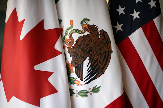 At NAFTA talks, Canada hails jet case as victory for free trade