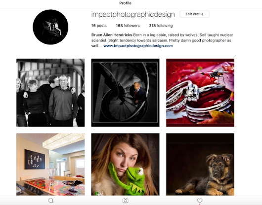 Check us out on INSTAGRAM! - Impact Photographic Design